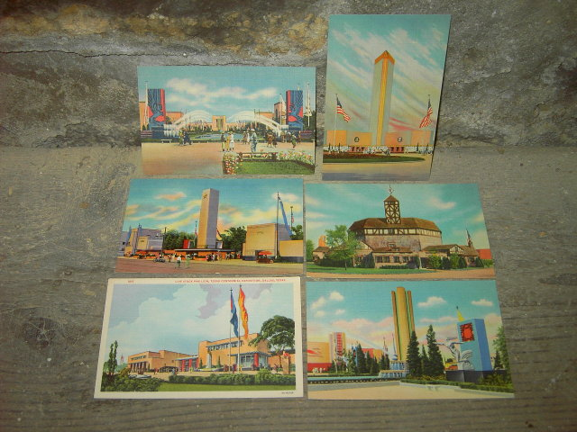 DALLAS TEXAS 1936 CENTENNIAL EXPOSITION POSTCARD TRAVEL TOURISM PICTURE CARD