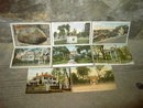 CAMBRIDGE PLYMOUTH CONCORD ROXBURY MASSACHUSETTS PICTURE CARD TOURISM MONUMENT LANDMARK POSTCARD