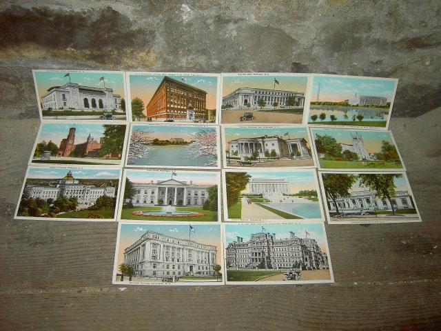 WASHINGTON D C PICTURE POSTCARD HISTORIC BUILDING FAMOUS LANDMARK MAIL CARD