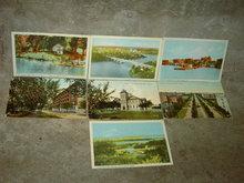 KENORA PORT ARTHUR ONTARIO WINNIPEG MANITOBA CANADA PICTURE POSTCARD TOURISM LANDMARK MAILER CARD