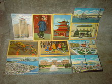 SAN FRANCISCO CALIFORNIA PICTURE POSTCARD TOURIST MAIL CARD HISTORICAL BUILDING MAILER