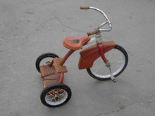 WESTERN FLYER TRICYCLE 1950'S CHILDS THREE WHEELER PEDDLAR TOY