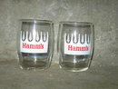 HAMM'S BEER GLASS SMALL BAR LOUNGE TUMBLER BEVERAGE ADVERTISING CUP
