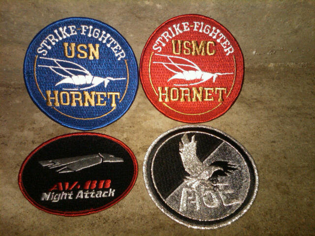 MCDONNELL DOUGLAS UNITED STATES NAVY MARINE CORP HORNET STRIKE FIGHTER NIGHT ATTACK F 15 EAGLE PATCH MILITARY JET AIRPLANE COLLECTIBLE