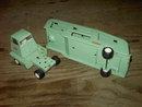 TONKA TRUCK AUTOMOBILE CAR TRANSPORT BIG RIG JADE GREEN PAINTED STEEL MOUND MINNESOTA ADVERTISING STICKER DECAL