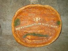 ROCKY MOUNTAIN NATIONAL PARK COLORADO DECORATIVE BOWL TOURISM TOURIST UTENSIL