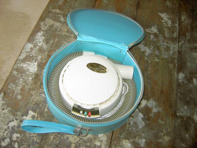 DOMINION ELECTRIC HAIR DRYER BEAUTY AID RETRO HOME SALON APPLIANCE