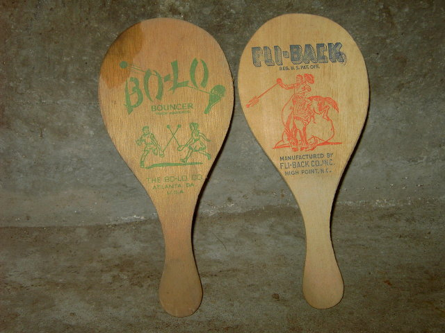 FLI BACK COWBOY BUCKING BRONCO PADDLE BO LO BOUNCER ADVERTISING BOARD