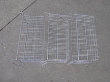 WIRE FREEZER BASKET VEGETABLE PRODUCE PLANT TOTE GARDEN TOOL CARRIER