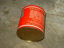 PRINCE ALBERT CRIMP CUT TOBACCO TIN CAN STORAGE CANNISTER