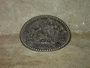 HESSTON NATIONAL FINALS RODEO BELT BUCKLE 1984 FRED FELLOWS COWBOY APPAREL ACCESSORY