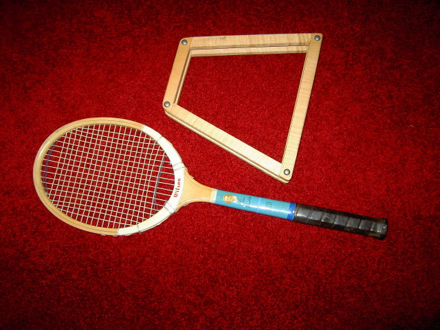 ALICE MARBLE FAMOUS PLAYER SERIES  WILSON FINALIST TENNIS RACKET