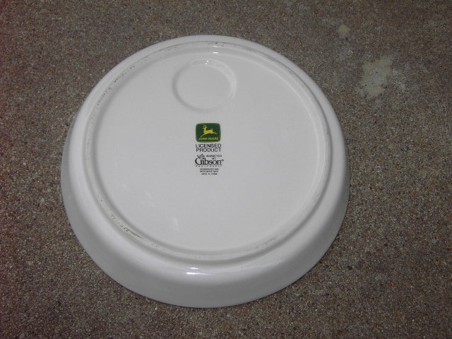 JOHN DEERE ASHTRAY FARM IMPLEMENT DEALER DESK ORNAMENT ADVERTISING DISH