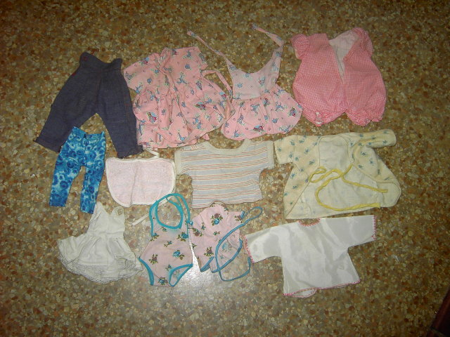 DOLL CLOTHING PLAY TOY CLOTHES GARMENT WEAR