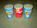 PROCTOR GAMBLE FOLGERS GENERAL FOODS MAXWELL HOUSE COFFEE CAN STEEL ADVERTISING CANNISTER TUB