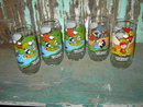 CHARLES SCHULZ PEANUTS CAMP SNOOPY GLASS TUMBLER MCDONALDS FAST FOOD COLLECTIBLE CUP