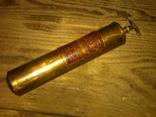 GENERAL QUICK AID FIRE GUARD BRASS EXTINGUISHER PHLARE PUMP TOOL