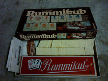RUMMIKUB HERTZANO ISRAEL TILE GAME PRESSMAN NEW YORK FAMILY PASTIME