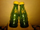 SQUIRT CITRUS SOFT DRINK SALT PEPPER SHAKER SODA POP BEVERAGE ADVERTISING BOTTLE