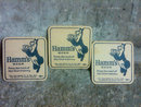 HAMMS BEAR BEER BEVERAGE COASTER BREW ADVERTISING BAR ACCESSORY