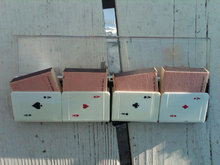 ACE BRIDGE CARD MATCHBOX HOLDER MATCH COVER ITALY MADE ITALIAN SMOKING ACCESSORY