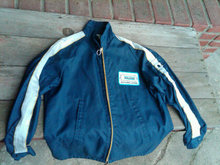 WALKER MUFFLER PIPE AUTO MECHANIC JACKET CAR RACE SPONSOR COAT RETRO APPAREL