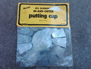 GOLF PRACTICE PUTTING CUP ALL ALUMINUM IN & OUTER NOVEL PMC BRAND ORIGINAL PACKAGE