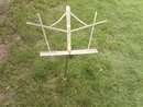 CONCERT BAND SHEET MUSIC DISPLAY STAND ORCHESTRA ROOM FIXTURE STEEL RACK
