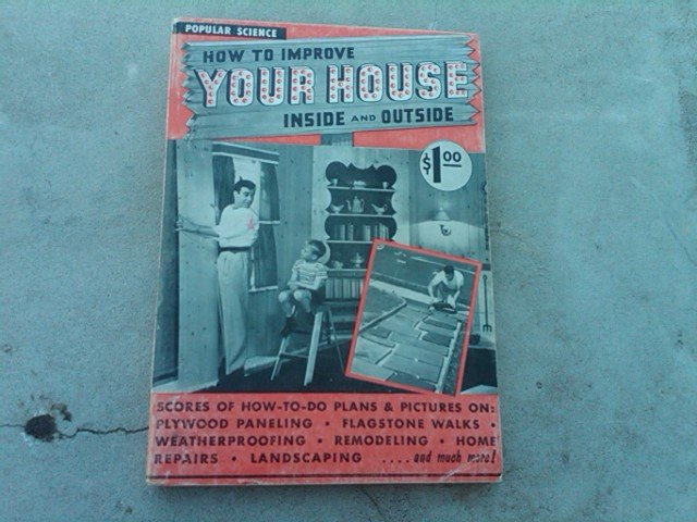 POPULAR SCIENCE IMPROVE YOUR HOUSE GUIDE BOOK HOME REPAIR MANUAL