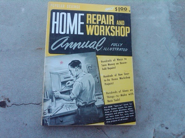 POPULAR SCIENCE HOME REPAIR WORKSHOP GUIDE BOOK ILLUSTRATED HOUSEHOLD MAINTENCE PUBLICATION