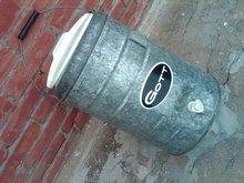 GOTT BRAND GALVANIZED STEEL WATER COOLER SPIGOT JUG RETRO BEVERAGE DISPENSER ICED TEA CARRIER