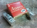 ANSCO ALL WEATHER PAN FILM BINGHAMTON NEW YORK ADVERTISING BOX RETRO ERA PHOTOGRAPHIC EQUIPMENT
