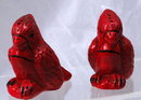 Very old Red Cardinal Salt and Pepper Shaker set.