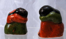 Mexican  Woman & Child Salt & Pepper Shakers