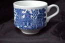 Blue Willow Churchill England  China Teacup