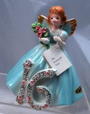 Josef Originals Sweet 16 Angel Girl Figurine, Japan with tags