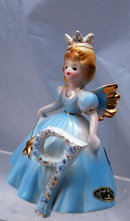 Josef Originals  9th  Birthday  Angel Girl Figurine, Japan with tags