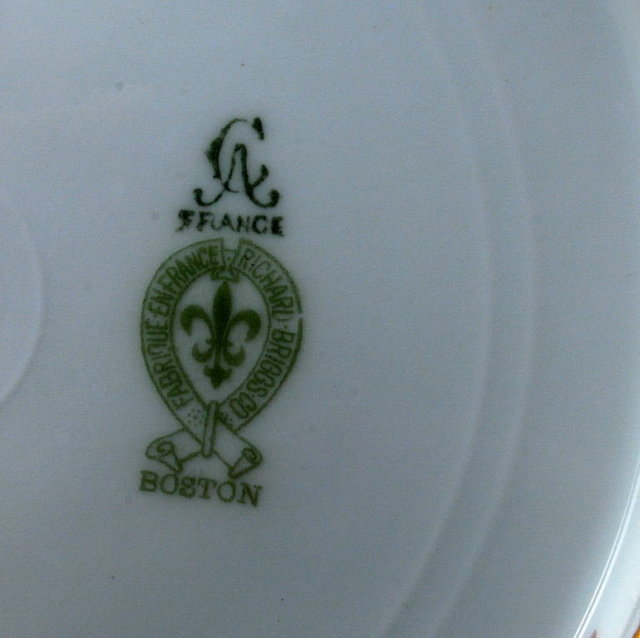 2 Salad Plates,  Richard Briggs Boston, CA France