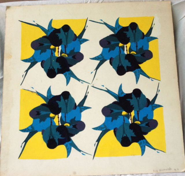 Modern Abstract  6 color Block Print  or ? Signed and Numbered  **PRICE REDUCED**!