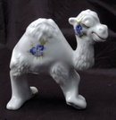 Hand Painted Camel Figurine signed