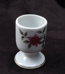 Roses Porcelain China Egg Cup - Japan