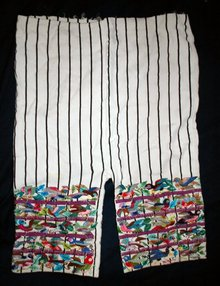 Traditional Hand Woven Guatamalian Mayan Pants, Calzoncillos , hand emroidered  **PRICE REDUCTION**! ,