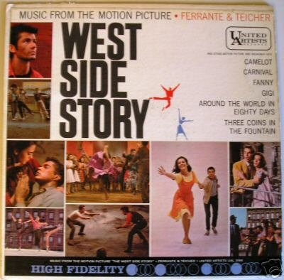 United Artist, West Side Story Vinyl Record Album.