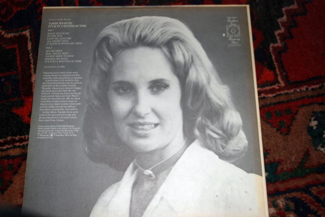 TAMMY WYNETTE - it's just a matter of time HARMONY 30914 (LP vinyl record)