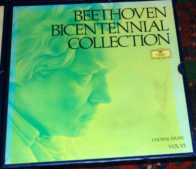Record Album Set  Beethoven's Bicentennial Collection Choral Music Vol. VI