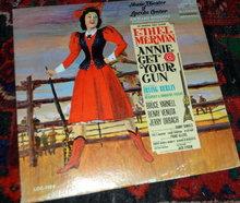 Annie Get Your Gun: An Original Cast  Vinyl LP Record Album (1966 Lincoln Center Cast)