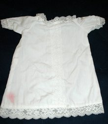 Cabbage Patch Kids Doll - baby doll dress white with lace