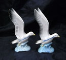 Seagull  Salt & Pepper Shakers Sandpoint Idaho Souvenir