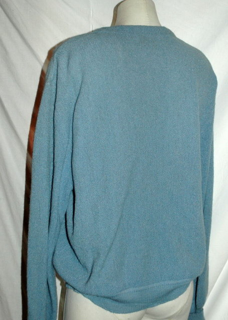 Alpaca Vintage Golf Sweater , Vintage   Nordstrom's  Blue XL   **PRICE REDUCED**!