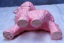Pinky Pink Lamb Pottery Planter  ( large )